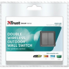 Trust Double Outdoor Wall Switch AGST-8802