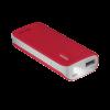 Trust Power bank Primo 4400 hordozható töltő - piros