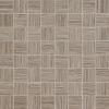 Tubadzin Biloba Grey 32,4x32,4 fürdőszoba mozaik