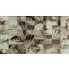TUBADZINcsempékpadlólapok Tubadzin Colour 1A Üveg Fürdőszoba dekor csempe 32,7x59,3