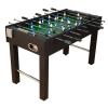 Tuin Asztali foci - fekete, MDF 121 x 101 x 79 cm