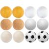 Tuin Exkluzív asztalifoci labdák - 12 db, különböző anyagból, 35 mm