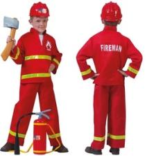 Tűzoltó jelmez - 116-os méret jelmez