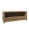 TV asztal/szekrény, lefkas tölgyfa, NEVADA