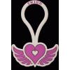 Twigo Tag Free Spirit szilikon biléta - lila