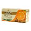 TWININGS Fekete tea 25 filteres narancs-fahéj ízesítéssel