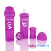 Twistshake Anti Colic cumisüveg 330ml lila