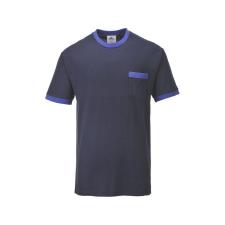 TX22 - Portwest Texo kontraszt póló - Tengerészkék munkaruha