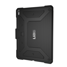 "UAG Metropolis Apple iPad Pro 12.9"" 2018 fekete flip hátlap tok tablet tok"
