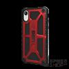 UAG Monarch Apple iPhone XR hátlap tok, Crimson