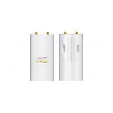Ubiquiti Access Point WiFi N kültéri Bázisállomás - Rocket M5 airMAX (150Mbps@5GHz; 100Mbps; 27dBm; 24V PoE; RP-SMA) hub és switch