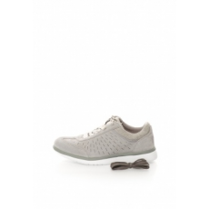 Ugg Australia Woman Victoria Gray Suede Sport Shoes (1017011-PCL-8)