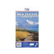 Új-Zéland térkép - Hema térkép