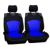 Üléshuzat univerzális (nagy méretű), betétes fekete-kék első ülésekre
