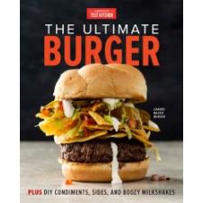 Ultimate Burger – America'S Test Kitchen idegen nyelvű könyv