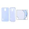 ultra vékony szilikon tok Samsung G920 Galaxy S6 - áttetsző kék