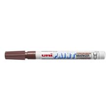 UNI Lakkmarker UNI PX-21 0,8-1,2mm barna filctoll, marker