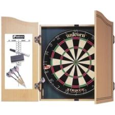 Unicorn Striker darts tábla fa díszdobozban darts tábla