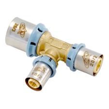 UNIDELTA 4013 press szűkített T-idom, 26x3-16x2-26x3mm hűtés, fűtés szerelvény