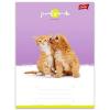 UNIPAP Friends: állatos 1. osztályos vonalas füzet - A5, 14-32, többféle