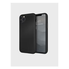 Uniq Lino Hue Apple iPhone 11 Pro Max, szilikon tok, fekete tok és táska
