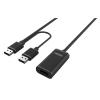 Unitek Kábel aktív kiterjesztése USB 2.0; 20m; Y-279