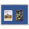 Universal filc Pinboard, kék, 60x90 cm
