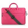 """Univerzális laptop táska, 11""""-os készülékhez, hosszú oldal zseb, vállpánttal, Iralan, rózsaszín"""