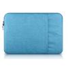 """Univerzális laptop táska, 15""""-os készülékhez, nagy oldal zseb, bújtatós, Iralan, kék"""