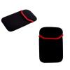 Univerzális TabletPC tok, 10 coll, fekete/piros