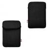 """Univerzális TabletPC tok, 7""""-os készülékekhez, T-Line, lyukacsos minta, fekete"""