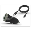 Univerzális Univerzális USB szivargyújtó töltő adapter + micro USB töltőkábel - 5V/1A - fekete