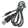 USB-2.5x0.8mm_kábel Töltő kábel USB -> 2.5mm x 0.8mm