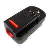 utángyártott Black & Decker Firestorm NPP2018 akkumulátor - 2000mAh