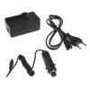 utángyártott Casio Exilim EX-TR10BE, EX-TR10SP akkumulátor töltő szett