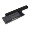 utángyártott Dell 312-0386, 312-0653 Laptop akkumulátor - 6600mAh
