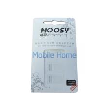 utángyártott Noosy Nano SIM és micro SIM adapter (3db) mobiltelefon kellék