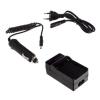 utángyártott Sony Alpha DSLR-A550, Alpha DSLR-A550L akkumulátor töltő szett