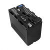 utángyártott Sony CCD-TR820E / CCD-TR825E / CCD-TR840 akkumulátor - 6600mAh