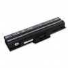 utángyártott Sony Vaio VGN-CS21Z/Q, VGN-CS220DP fekete Laptop akkumulátor - 4400mAh