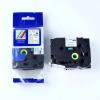 Utángyártott szalag Brother HSe-251 23,7mm x 1,5m, fekete nyomtatás / fehér alapon