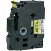 Utángyártott szalag Brother TZ-FX641/TZe-FX641 18mm x 8m, flexi, fekete nyomtatás / sárga alapon