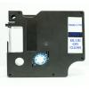 Utángyártott szalag Dymo 45801, 19mm x 7m kék nyomtatás / átlátszó alapon