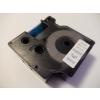 Utángyártott szalag Dymo 45804, 19mm x 7m kék nyomtatás / fehér alapon