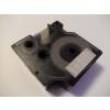 Utángyártott szalag Dymo 45810, 19mm x 7m fehér nyomtatás / átlátszó alapon