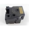 Utángyártott szalag Dymo 53723, 24mm x 7m fekete nyomtatás / arany alapon