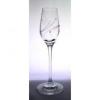 Üveg pohár swarovski dísszel pálinka 95ml átlátszó S/2