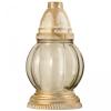 Üvegmécses, műanyag fedeles 200 mm (LA-152 BZ) antikolt, fehér