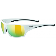 Uvex Sportstyle 222 Polarized White-Polavison Mirror Yellow S3