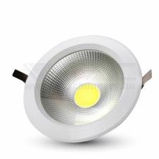 V-tac 10W LED COB Mélysugárzó Reflektor Fehér 6000K - 1100 kültéri világítás